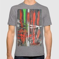 Scars Mens Fitted Tee Tri-Grey SMALL