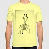 High Society Mens Fitted Tee Lemon SMALL