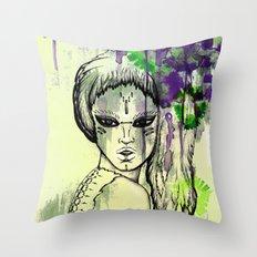 Tribal Beauty 1 Throw Pillow