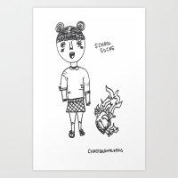 School Sucks Art Print