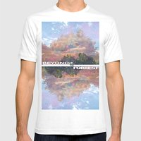 Beyond The Forest Mens Fitted Tee White SMALL
