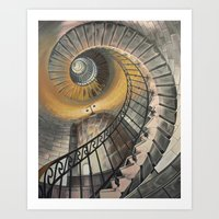 Staircase 2 Art Print