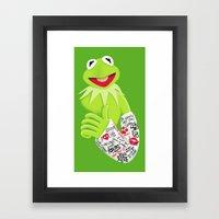 Healing & Smiling Framed Art Print