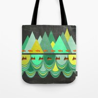 Fishes Which Wanted To H… Tote Bag