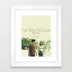 The Spectacular Now Framed Art Print