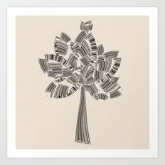 UPC Tree Art Print