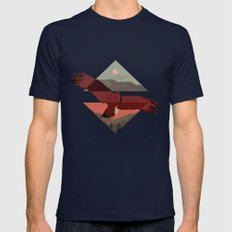 HAWKING Mens Fitted Tee Navy SMALL
