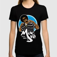 Andre 'Mac Dre' Hicks Womens Fitted Tee Black SMALL