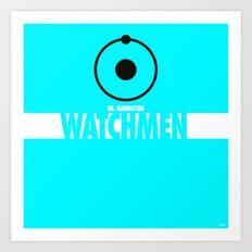 Watchmen 2.0 - Dr. Manhattan Art Print