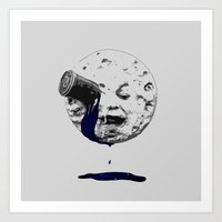 a trip to the moon Art Print