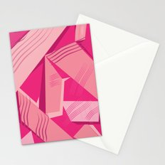 Pink Pattern Stationery Cards
