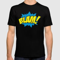 Blam! Mens Fitted Tee Black SMALL