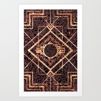 Rose Quartz - for iphone Art Print