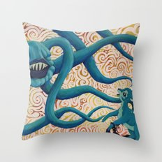 A Study in Distress Throw Pillow