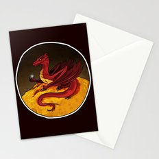 Smaug the Golden Stationery Cards