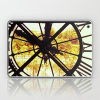 Clock In Musee D'Orsay, … Laptop & iPad Skin