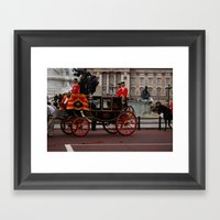 The Royal Carriage 3 Framed Art Print