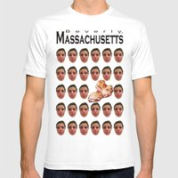 Beverly, MA Mens Fitted Tee White SMALL