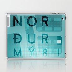 Norðurmýri Laptop & iPad Skin