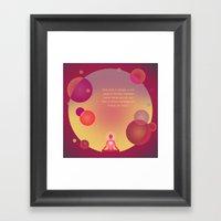 Dialogue Framed Art Print