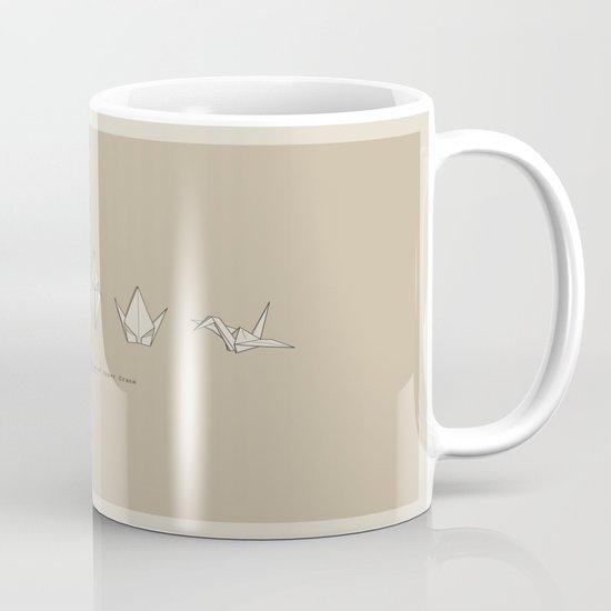 Evolution of Paper Crane Mug