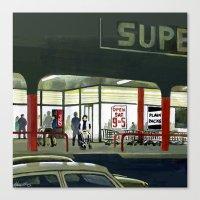 Superlight Canvas Print