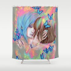 In Time Shower Curtain