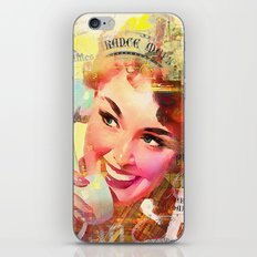 Wait a minute, I'll be right back iPhone & iPod Skin
