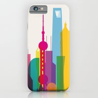 Shapes of Shanghai. Accurate to scale iPhone 6 Slim Case