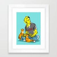 Cas N' Cats Framed Art Print