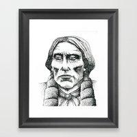 Quanah Parker, Last Chie… Framed Art Print