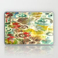 Peeking Trees Laptop & iPad Skin