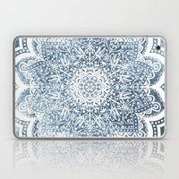 BLUEISH SEA FLOWER MANDALA Laptop & iPad Skin