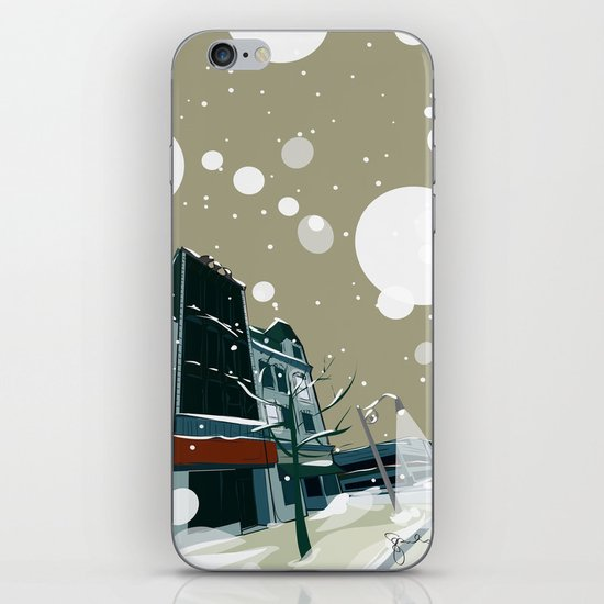 Wyndham Street iPhone & iPod Skin