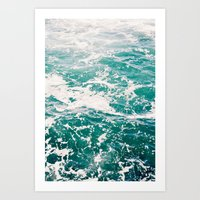 Dive In Art Print