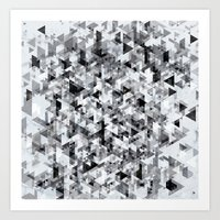 Marble madness Art Print