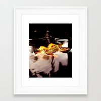 Framed Art Print featuring Arrival of Autumn by Vorona Photography