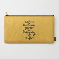 Practically perfect in every way mary poppins measuring tape..  Carry-All Pouch