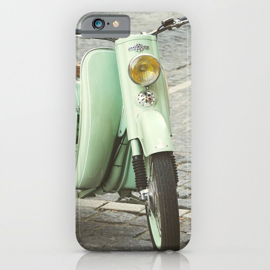 Mint Moto - Bruges Belgium Photography iPhone & iPod Case