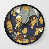 The Fellowship of the Ring Wall Clock