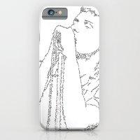 Ian Curtis WordsPortrait iPhone 6 Slim Case