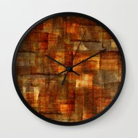 Cuts 6 Wall Clock