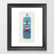 Lighthouse - Limited Tim… Framed Art Print