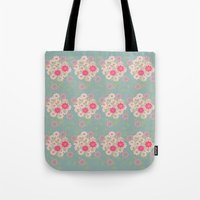 Flower Pad Tote Bag