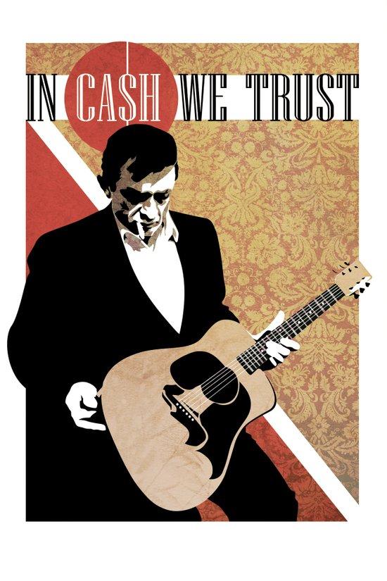 iN CA$H WE TRUST Art Print