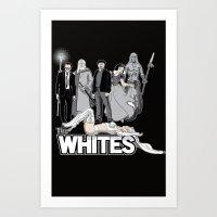 The Whites Art Print
