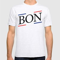 BON I Mens Fitted Tee Ash Grey SMALL