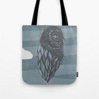 Hot Owl Balloon Tote Bag