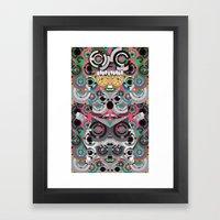 KiNG KoALA Framed Art Print