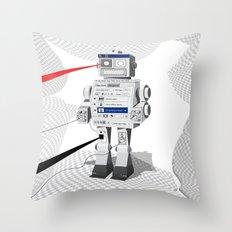 Photobot Throw Pillow